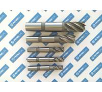 Фреза концевая 25х45х147 z=6 к/х HSS DOLFAMEX фото